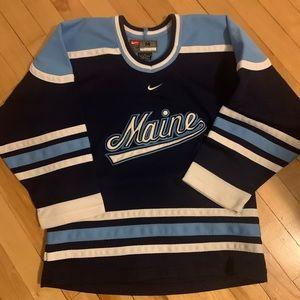 Youth size M University of Maine hockey jersey